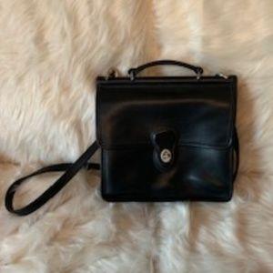 Coach Vintage Willis Black Leather Bag